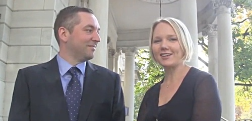 Ray and Jenn Zaborney in a video interview with the Central Penn Business Journal