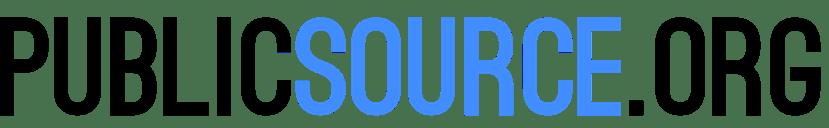 Logo for PublicSource
